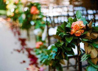 garden-wedding-ceremony-garland-decoration