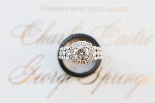 charlise-castro-and-houston-astros-george-springer-iii-wedding-rings-halo-engagement-ring