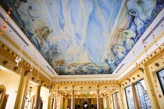 villa-caletas-dining-room-ceiling-painting