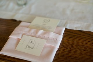 grooms-place-card-pink-napkin-calligraphy-menu