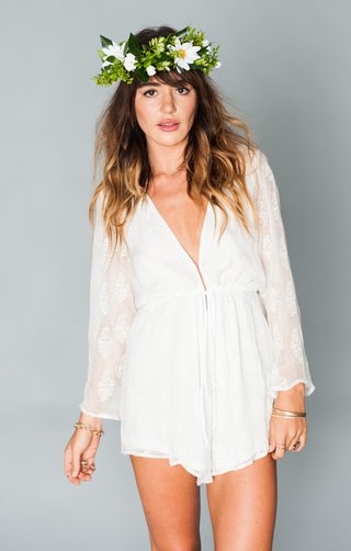 lace-romper-with-a-sheer-back-and-sleeves