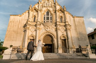 bride-in-a-fit-and-flare-sottero-and-midgley-dress-her-father-at-st-joseph-catholic-church-gretla