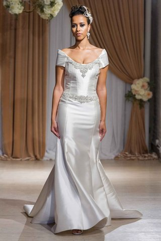 jean-ralph-thurin-fall-2016-seamed-wedding-dress-with-off-the-shoulder-sleeves