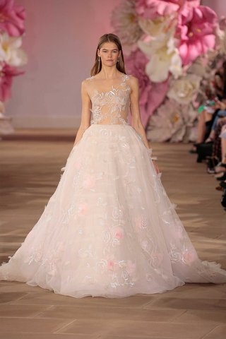 ines-di-santo-couture-bridal-collection-spring-summer-2017-light-ball-gown-pink-flower-sheer-bodice