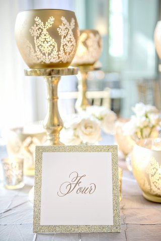 gold-calligraphy-table-number-with-glitter-border