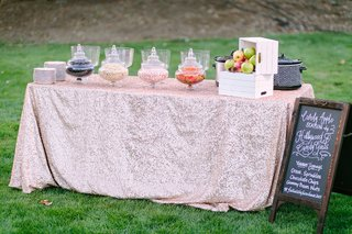 candy-apple-station-rustic-chic-wedding-professional-event-outdoors-california-sweets-unique