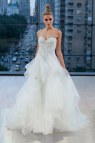 ines-di-santo-fall-2018-lex-wedding-dress-strapless-full-skirt-wedding-dress