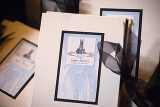 wedding-programs-with-duke-chapel-logo