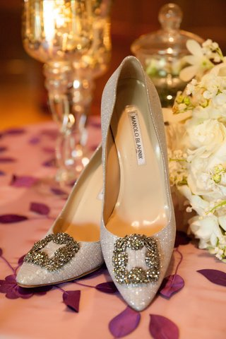 manolo-blahnik-glitter-pumps-with-square-buckle-crystal