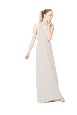 joanna-august-riggs-long-bridesmaid-dress-with-high-neck-sleeveless-in-cream