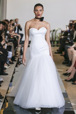 justin-alexander-spring-2018-satin-dropped-waist-fit-and-flare-gown-tulle-skirt-wedding-dress