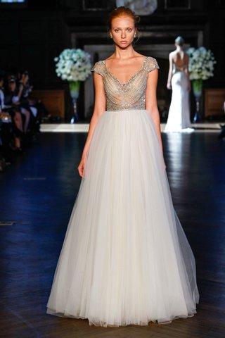 alon-livne-white-fall-2016-beaded-cap-sleeve-bodice-and-tulle-skirt-wedding-dress