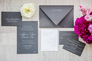 sophisticated-gray-silver-invitation-suite-calligraphy-new-york-city-wedding-paper-goods