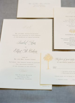 wedding-invitation-sophisticated-calligraphy-with-gold-palm-tree-motif-design-for-palm-beach-wedding