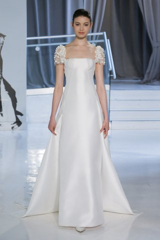 maxima-by-peter-langner-spring-2018-a-line-gown-silk-magnolia-embroidered-short-sleeves-petals