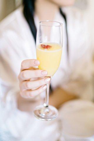 morning-mimosa-getting-ready-for-wedding-strawberry-champagne-british-english-pink-blush-nail-style