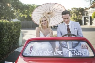 bride-and-groom-in-personalized-golf-cart