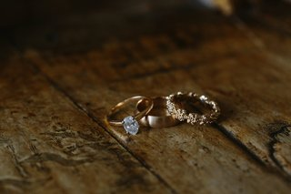 solitaire-oval-diamond-engagement-ring-plain-yellow-gold-gold-flower-wedding-ring-brushed-yellow-g