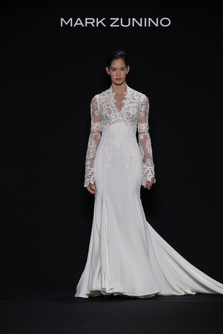 mark-zunino-for-kleinfeld-2016-silk-crepe-wedding-dress-with-lace-long-sleeves