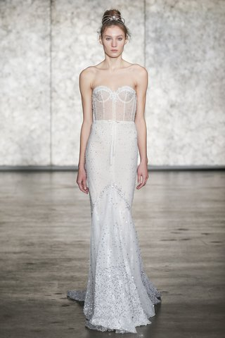 inbal-dror-fall-2018-jewel-vip-strapless-sequined-mermaid-gown