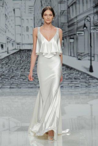 justin-alexander-spring-summer-2017-v-neck-silk-charmeuse-wedding-dress-with-flounce-bodice-beads