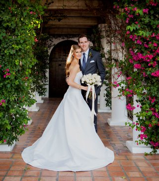 wedding-at-la-quinta-resort-and-spa-palm-springs-palm-desert-la-quinta-a-line-strapless-wedding-gown