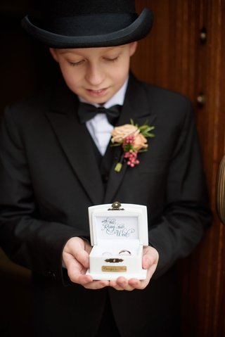 ring-bearer-in-tails-and-bow-tie-and-top-hat-english-wedding-tradition-ring-box-personalized-couple