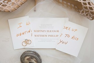 wedding-invitation-with-rose-gold-print-simple-elegant-i-woke-up-wanting-to-kiss-you