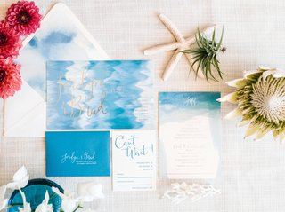 bliss-bone-ocean-inspired-invitations-with-gold-blue-white-calligraphy-watercolor-envelope-liner