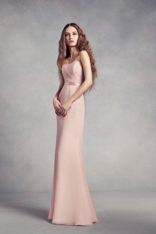 white-by-vera-wang-fall-2017-fitted-bridesmaid-dress-sweetheart-neckline-thin-ribbon-belt-blush