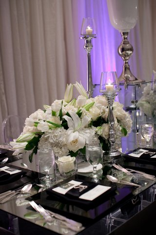 white-lily-tulip-rose-and-hydrangea-flowers-on-mirror-table