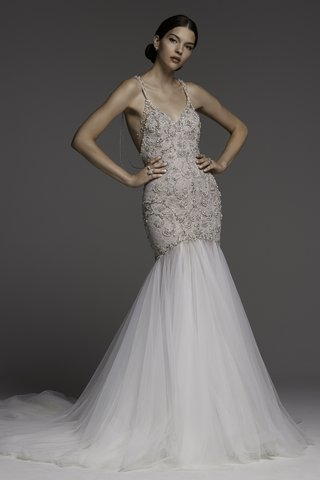 watters-spring-2018-mermaid-gown-hand-beading-soft-netting-skirt-layered-strands-of-beading-on-back
