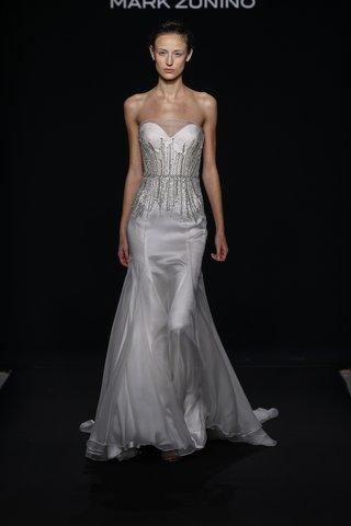 mark-zunino-for-kleinfeld-2016-strapless-wedding-dress-with-jewel-waistline