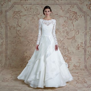 sareh-nouri-fall-2016-ball-gown-wedding-dress-with-long-sleeves