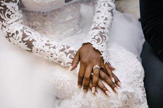 african-american-bride-luxury-wedding-long-sleeve-wedding-dress-sheer-illusion-details-embroidery