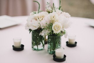 candle-votives-and-mason-jars-with-white-flowers