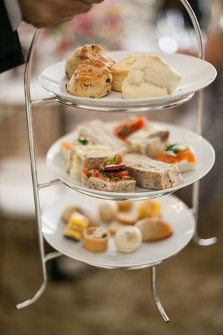 bridal-shower-food-three-tier-tray-for-high-tea-service