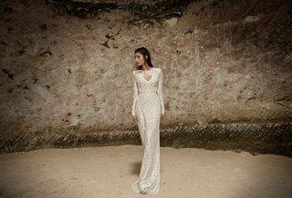 limor-rosen-2017-surma-wedding-dress-long-sleeve-beaded-tribal-collection