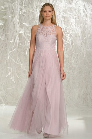 watters-bridesmaids-2016-long-bridesmaid-dress-with-lace-bodice-and-high-neckline