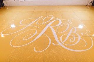 gold-white-custom-dance-floor-initials-pelican-hill-details-california-wedding-venue