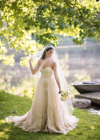 mark-ingram-champagne-gown-with-gold-embroidery-and-blusher-veil