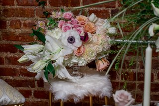 anemone-white-lily-peach-roses-pink-flowers-small-white-faux-fur