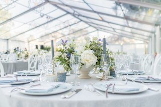grey-and-white-wedding-with-blue-thistles-and-lavender-flowers