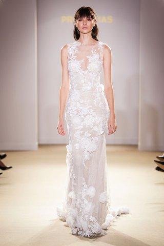 atelier-pronovias-2019-bridal-collection-wedding-dresses-illusion-bridal-gown-flower-applique-3d