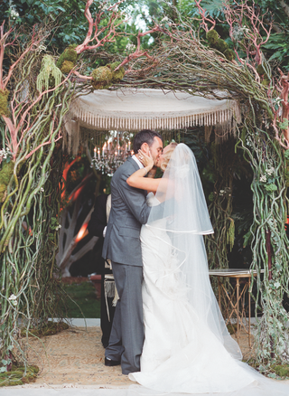 chuppah-with-bamboo-moss-and-chandelier