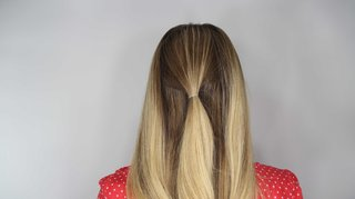 how-to-diy-wedding-hairstyle-topsy-tail-faux-braid-step-number-one
