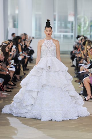 ines-di-santo-spring-2018-cut-in-halter-illusion-neck-ball-gown-ruffled-tiered-skirt-cathedral-train