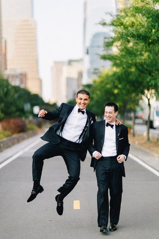 groom-with-groomsman-best-man-in-bow-tie-and-tux