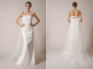 sachin-babi-spring-summer-2017-debut-bridal-collection-strapless-fit-and-flare-with-embroidery-bow