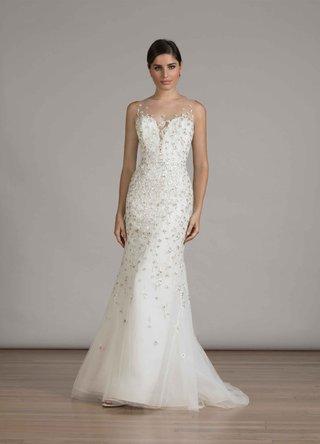 liancarlo-fall-2016-sheath-wedding-dress-with-beading-and-illusion-neckline